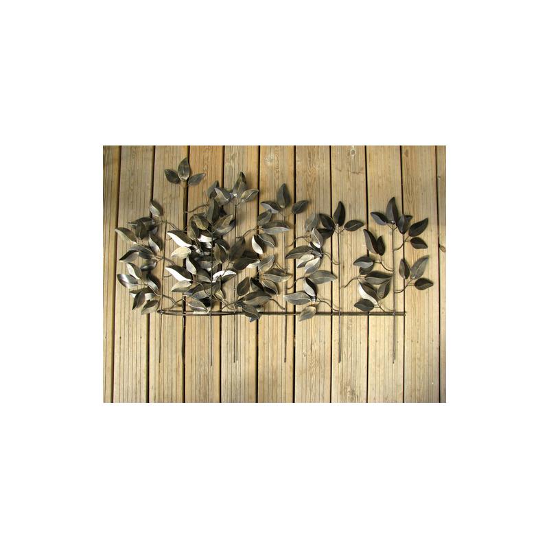 D cor jardin feuillage r alisation artisanale en m tal for Decoration jardin en metal