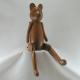 Ourson bois 40cm artisanat