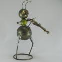 Fourmi violoniste artisanat métal