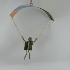 Parapente à suspendre métal