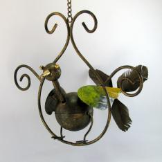 Oiseau à suspendre métal
