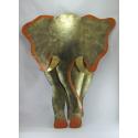 Décor mural éléphant -réalisation artisanale en métal