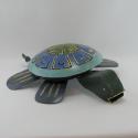 Cendrier tortue métal