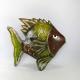 Décor mural poisson -réalisation artisanale en métal