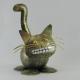 Chat smile métal artisanat maison