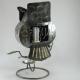 Hibou métal artisanat maison