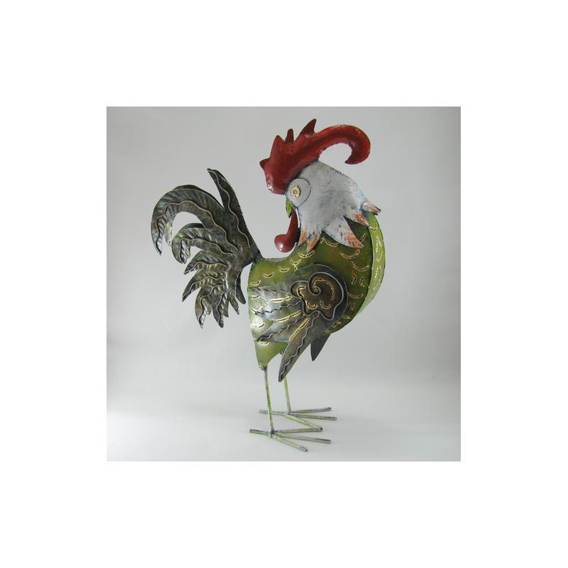 coq decoration metal