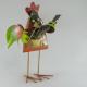 Coq guitariste métal fait-main