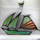Décor mural bateau -réalisation artisanale en métal