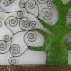 Porte-manteaux mural arbre métal