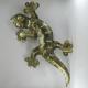 Salamandre applique 80cm