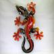 Décor mural salamandre métal