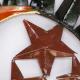 Décor mural 3 astres-réalisation artisanale en métal