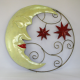 Décor mural lune étoile -réalisation artisanale en métal