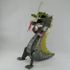 Dragon métal artisanat jardin maison