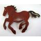 2 Magnets chevaux métal