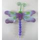 2 Magnets papillon-libellule métal