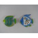 2 Magnets poissons métal