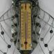 Thermomètre mural cigale métal