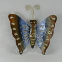 Décor mural petit papillon métal