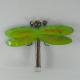 Décor mural libellule métal