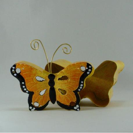 Boite papillon métal