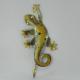 Patère salamandre métal