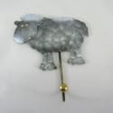 Patère Mouton métal