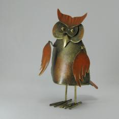 Hibou métal artisanat