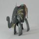 Petit éléphant métal artisanat jardin maison