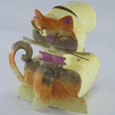 Boite chat métal