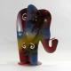 Bougeoir éléphant métal