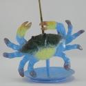 Porte-encens crabe métal