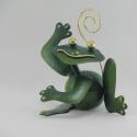 Porte-photo grenouille artisanat métal