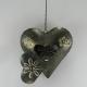 Coeur à suspendre métal