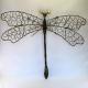Décor mural libellule fil de fer