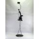 Bougeoir statuette danseuse métal