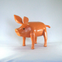 Cochon bois artisanat jardin maison