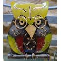 Hibou métal artisanat jardin maison